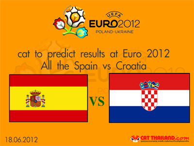 โครเอเชีย - สเปน (cat euro 2012)