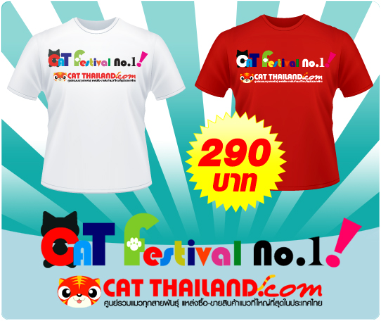 T-shirt Cat Festival No.1